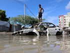 People feared dead after boat capsizes as flooding in Somalia forces 182,000 people from their homes