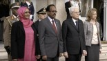 Somali president in high-level meetings during official trip to Italy