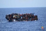 European migrant crisis: Capsized boat horror caught on camera