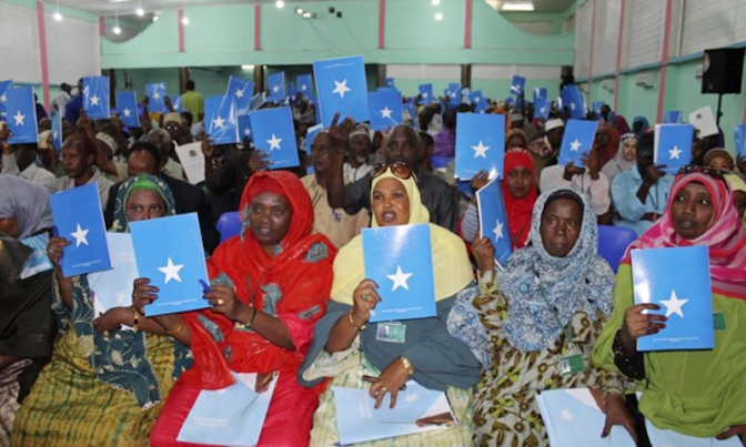 Somalia has launched a constitutional review process at a national convention held in Mogadishu.
