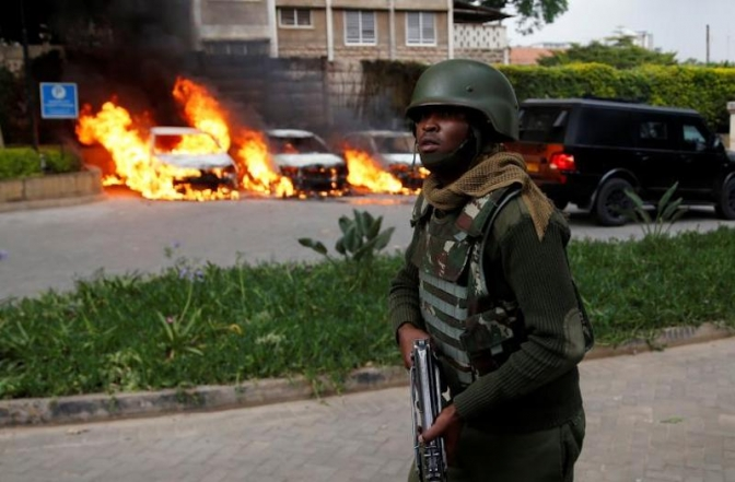 Explosion wounds one in Kenyan capital Nairobi