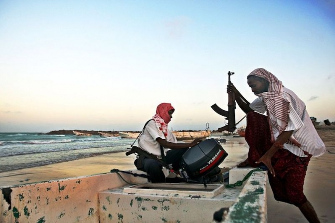 Terror as cruise ship fears Somali pirate attack