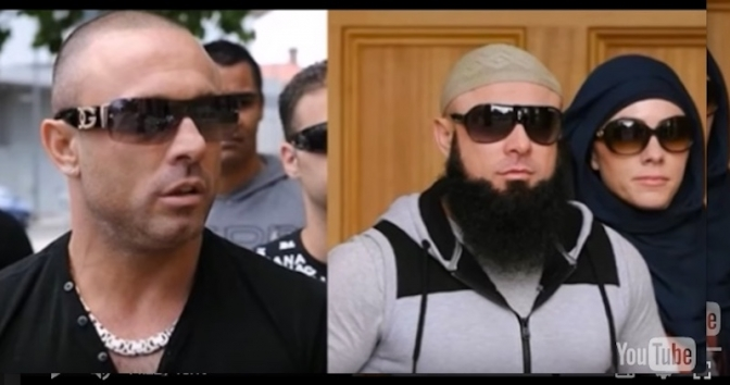 """VIDEO""-FROM ITALIAN GANGSTER TO ISLAM!"