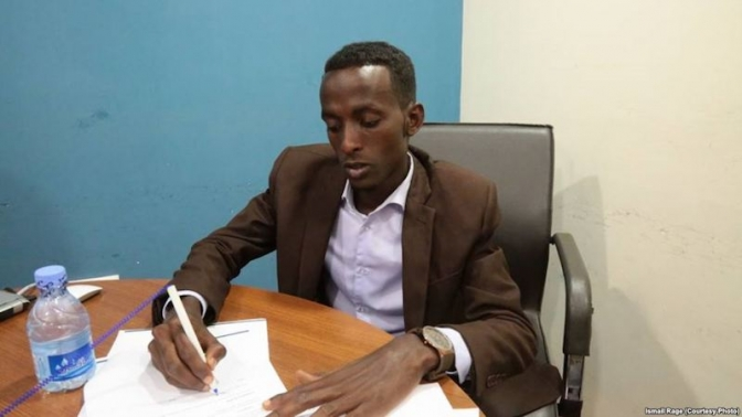 Mogadishu College Graduate Proves His 'Disability Is Not an Inability'