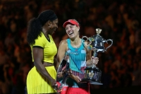 Australian Open: Angelique Kerber stuns Serena Williams to win women's final
