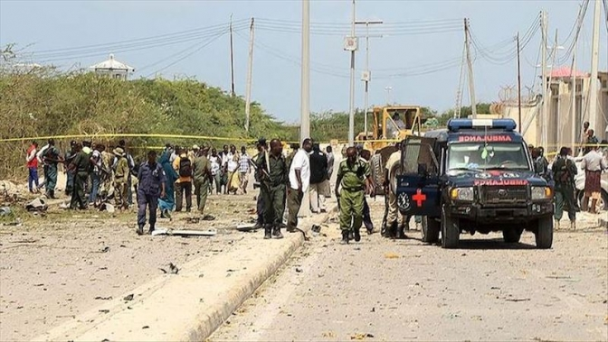 Twin bomb blasts kill at least 2 in Somali capital