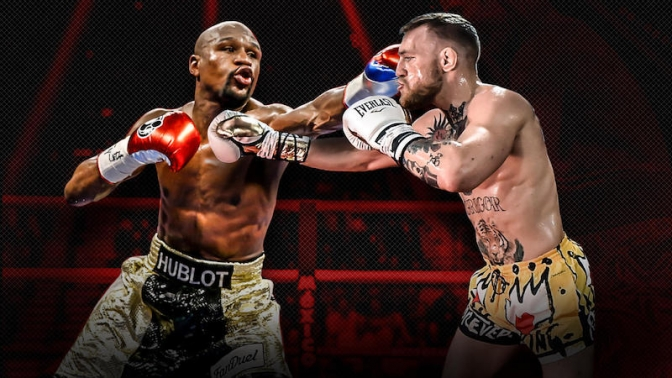 World reacts to Floyd Mayweather-Conor McGregor megafight